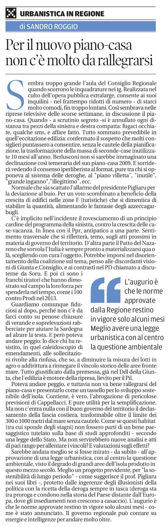 Ricorso Avverso La Nuova Legge Edilizia In Sardegna Gruppo D Intervento Giuridico Odv