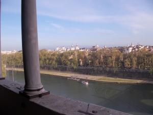 Roma, Castel S. Angelo, vista sui tetti