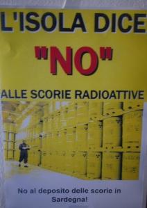 """manifesto """"no alle scorie"""""""