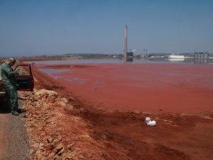 Portoscuso, bacino c.d. fanghi rossi