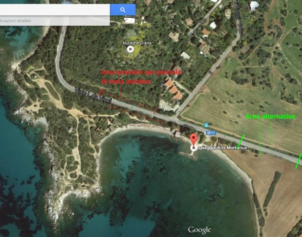 Quartu S. Elena, Is Mortorius, aerofotogrammetria area del progetto