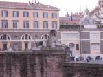 Roma, Piazza del Popolo, laSfinge