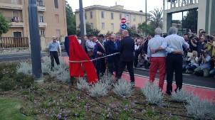 Cagliari, inaugurazione Viale Campioni d'Italia 1969-1970 (13 giugno 2015)