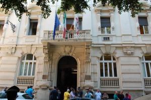 Cagliari, sede del T.A.R. Sardegna (Piazza del Carmine-Via Sassari)