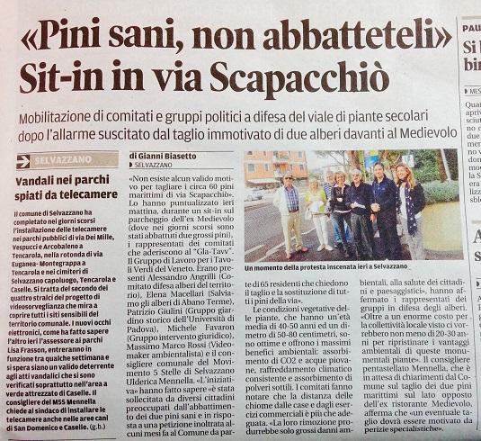 Il Mattino di Padova, 27 settembre 2015
