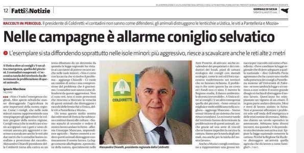 Il Giornale di Sicilia, 15 agosto 2015