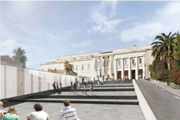 Cagliari, piano particolareggiato centro storico,zona Via San Giorgio (rendering)