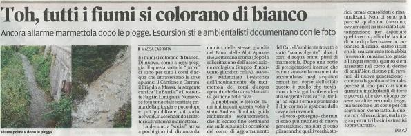 Il Tirreno, 6 ottobre 2015