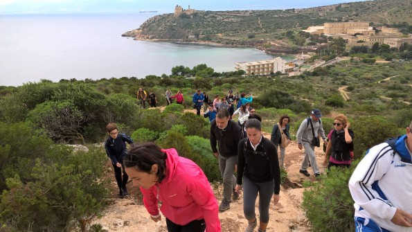 Cagliari, Sella del Diavolo, Giornata nazionale del Trekking Urbano (31 ottobre 2015)