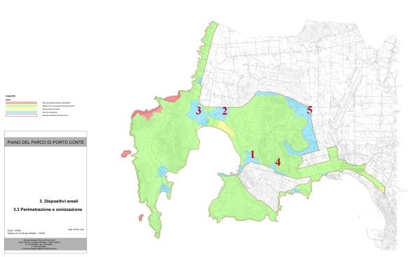 """Parco naturale regionale """"Porto Conte"""", proposta di piano del parco"""