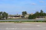 Cagliari, campo nomadi abusivo, accatastamento di rifiuti  (15 novembre2015)