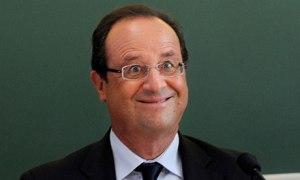 François Hollande, Presidente della Repubblica francese
