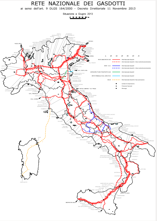 Rete Nazionale dei Gasdotti