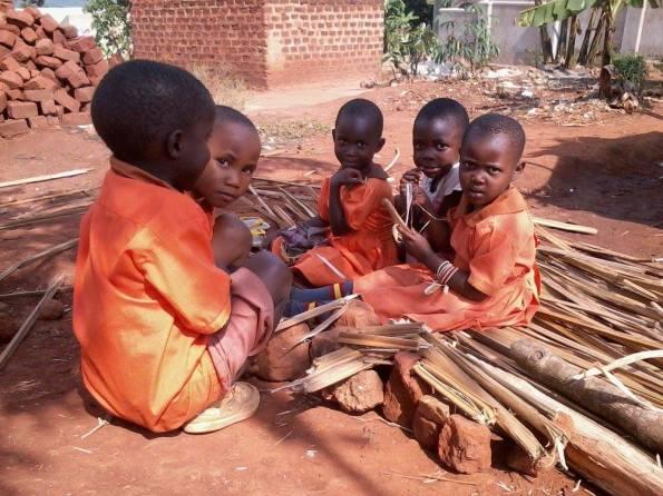 Uganda, Kibiri, bambini