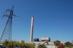 Portoscuso, zona industriale di Portovesme, centrale termoelettricaEnel