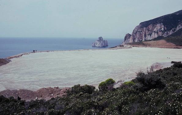Masua, bacino contenimento fanghi (1978)