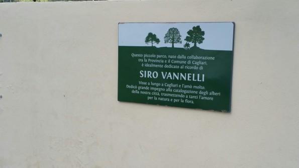 """Cagliari, parco """"Siro Vannelli"""""""