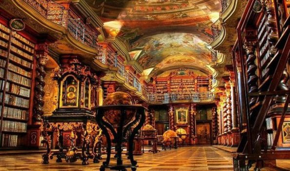 Napoli, Biblioteca Statale Oratoriana annessa al Monumento Nazionale dei Girolamini