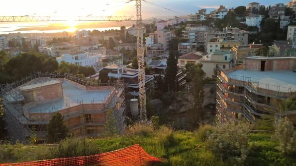 Cagliari, cantieri edilizi nel centro storico
