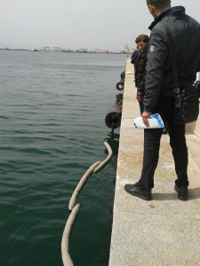 Cagliari, dimostrazione del disinquinamento con barriere Geolana