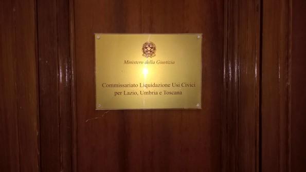 Roma, Commissariato per gli Usi Civici per Lazio, Umbria, Toscana