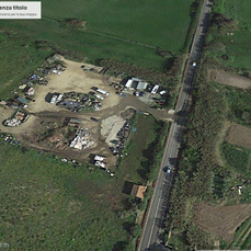 S. Teresa di Gallura, Valdigalera, immagine ecocentro (da Google Earth)
