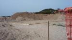 Badesi, cantiere edile sulle dune (aprile2016)