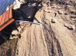 Olbia, Baia degli Asfodeli, lavori impianto elettrico pontile (maggio2016)