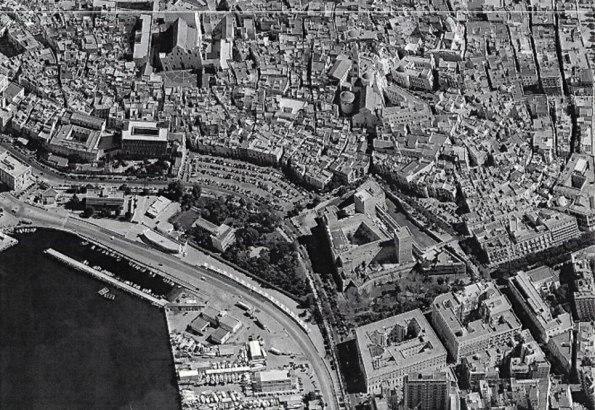 Bari Vecchia, veduta aerea