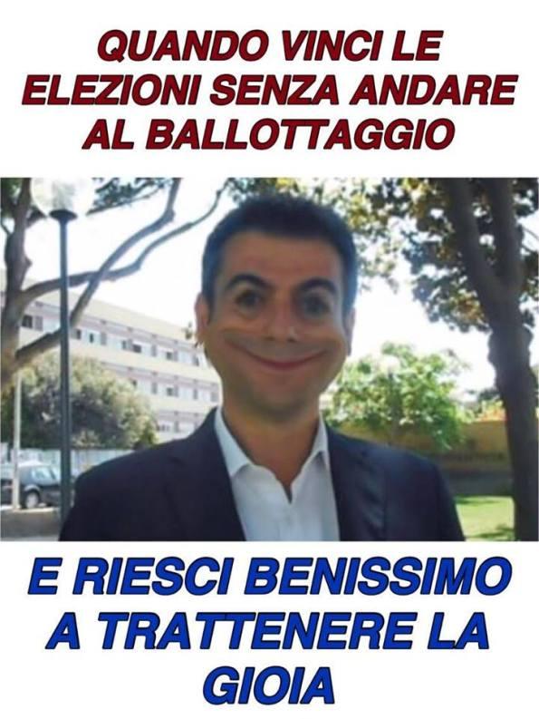 Massimo Zedda dopo la vittoria elettorale (by Intanto in Viale Trento)
