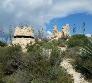Cagliari, Sella del Diavolo, Torre di S. Elia e postazione antiaerea