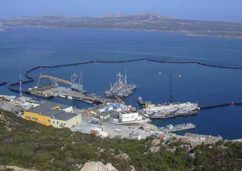 La Maddalena, S. Stefano, base militare
