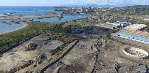 Piombino, area industriale inquinata
