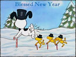 Snoopy anno nuovo