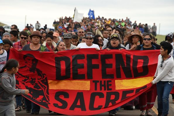 Proteste contro oleodotto Dakota Access