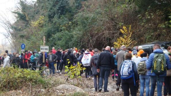 manifestazione per la difesa delle sponde del Brenta (4 dicembre 2016)