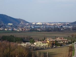 Torreglia, Colli Euganei. Immaginate un colpa che parta in direzione Montegrotto Terme.