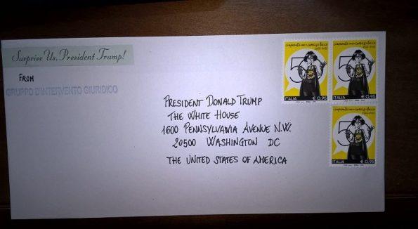 lettera GrIG al Presidente U.S.A. D. Trump