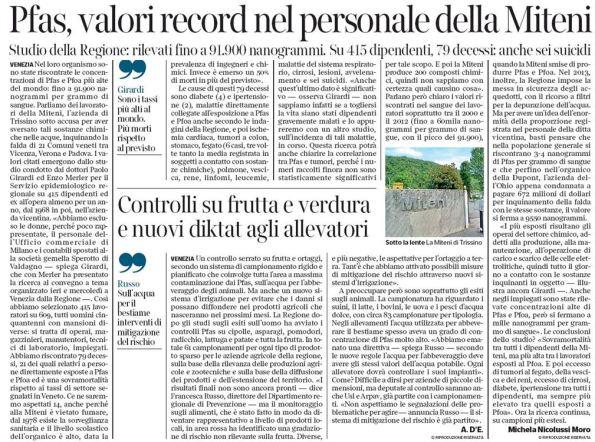 Il Corriere Veneto, 24 febbraio 2017