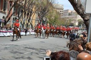 Copia di Cagliari, Festa di S. Efisio, miliziani