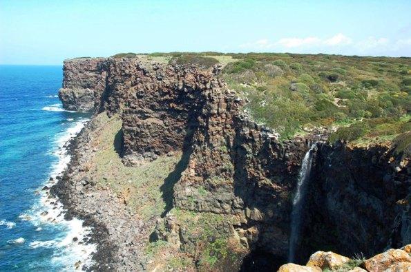 Cascata di Capo Nieddu