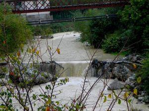 Massa, Borgo al Ponte, Fiume Frigido, inquinamento da marmettola (5 novembre 2017), 2