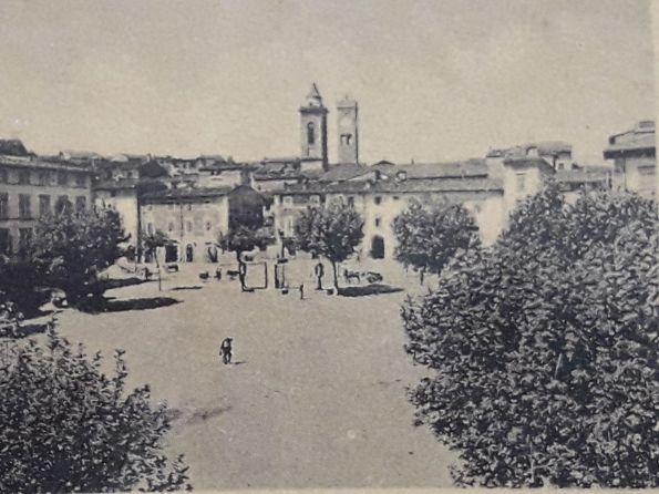 piazza mazzini ai primi del '900