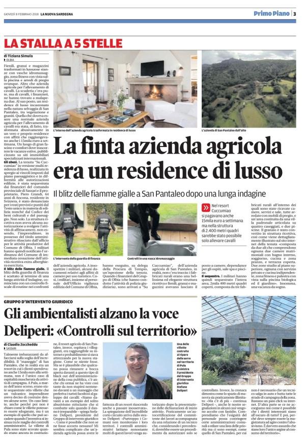 La Nuova Sardegna, 8 febbraio 2018 - Copia