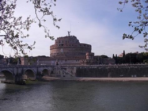 Roma, Castel S. Angelo e Ponte - Copia