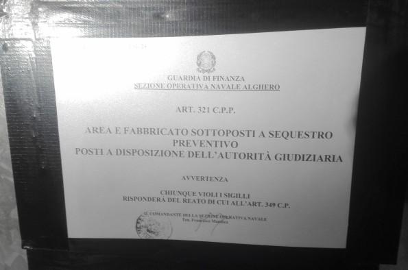 cartello sequestro penale