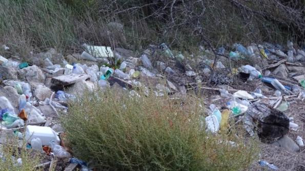Laguna veneta (fra Codevigo e Chioggia), rifiuti vari, 2