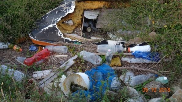 Laguna veneta (fra Codevigo e Chioggia), rifiuti vari, 3